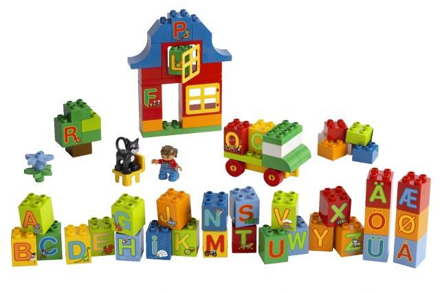 6051 Lego Duplo Leg Med Bogstaver Lego Duplo Udgået
