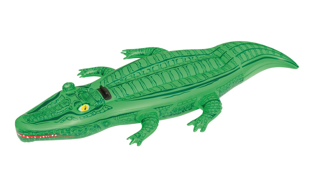 Badedyr 39 39 krokodille 39 39 203 cm kr 129 p lager til for Badepool aufblasbar