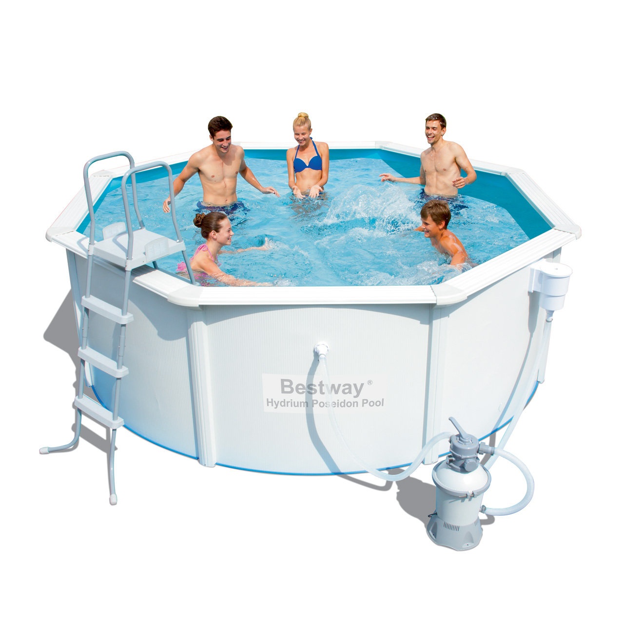 bestway hydrium neptune pool 366x122cm m sandfilter pumpe udg et. Black Bedroom Furniture Sets. Home Design Ideas