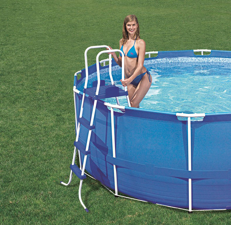 Bestway pool stige 122 cm udg et for Pool plastik
