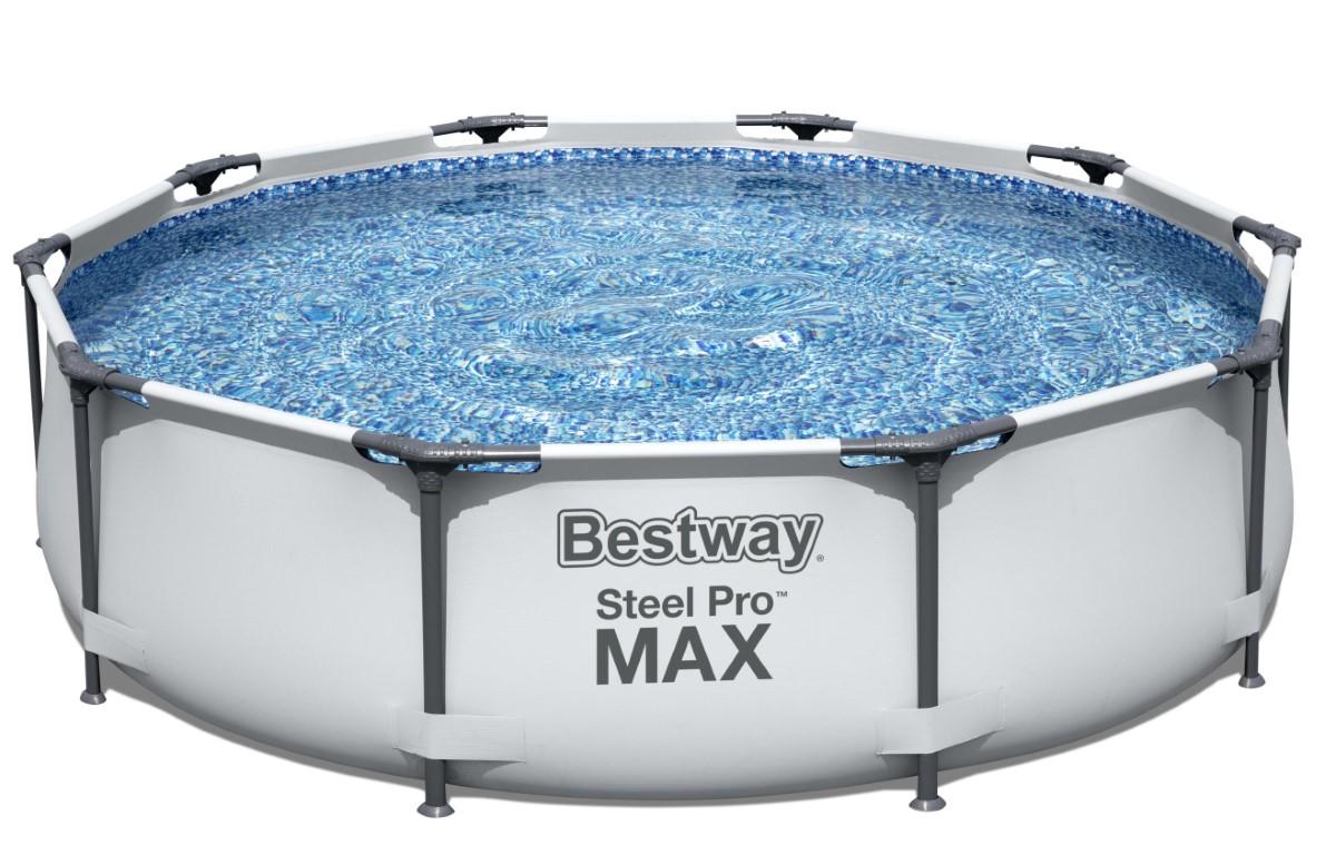 bestway steel pro frame pool 305 x 76cm m filter pumpe kr 999. Black Bedroom Furniture Sets. Home Design Ideas