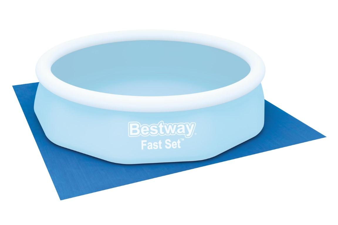 Populære Bestway Underlag til Pool 335x335 cm Kr. 179 - på lager til UK-75