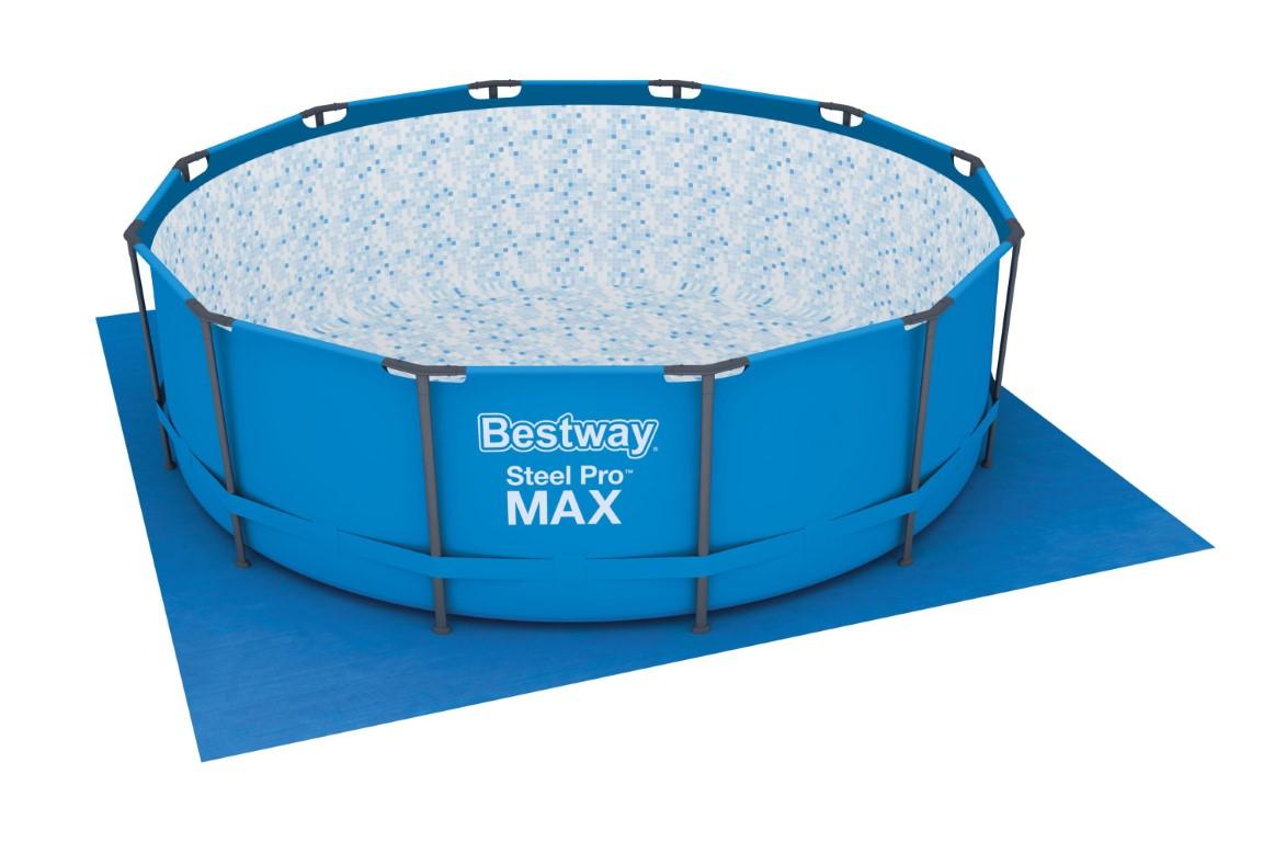 Splinternye Bestway Underlag til Pool 396x396 cm Kr. 199 - på lager til ST-15