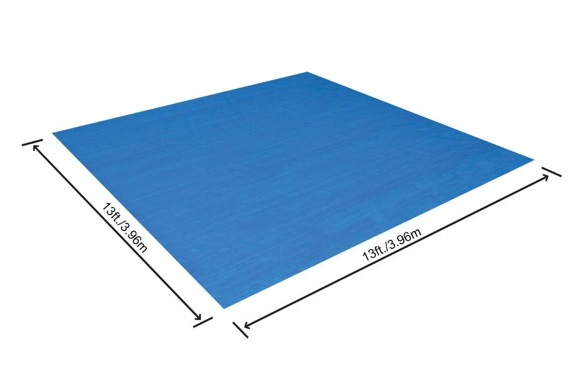 Rask Bestway Underlag til Pool 396x396 cm Kr. 199 - på lager til YS-89