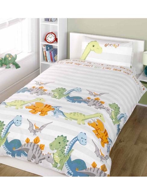 junior sengetøj dinosaur