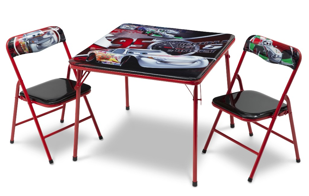 Disney biler / cars mcqueen klapbord og stole kr. 499   på lager ...