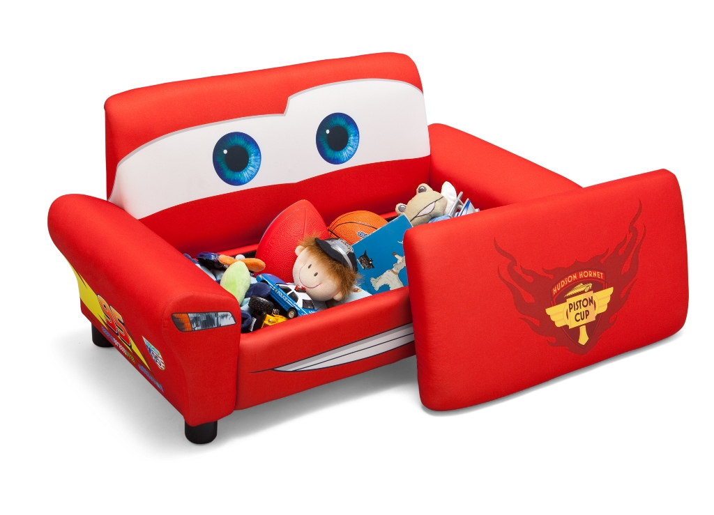 Disney biler cars polstret sofa til 2 b rn kr for Muebles disney