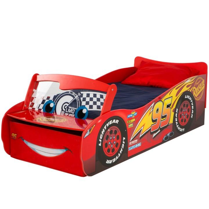 lynet mcqueen seng Disney Biler LyMcQueen Junior børneseng (140cm) Kr. 2.199 lynet mcqueen seng