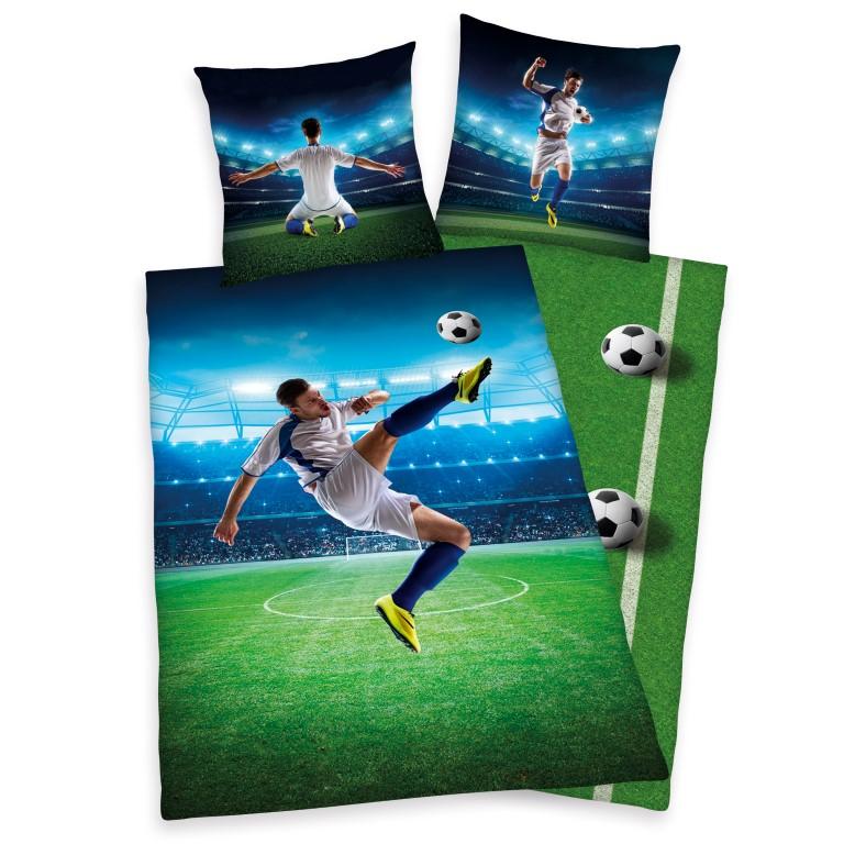 fodbold sengetøj Fodbold Saksespark Sengetøj   100 Procent Bomuld Kr. 299   på  fodbold sengetøj