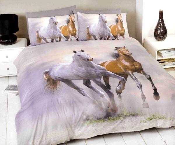 sengetøj med heste Heste Sengetøj, Galopperende Heste Kr. 299   på lager til omgående  sengetøj med heste