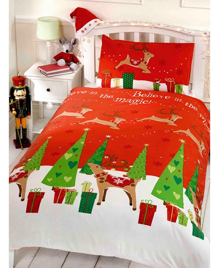 jule sengetøj Jule Sengetøj   Tro på magien Kr. 199   på lager til omgående levering jule sengetøj