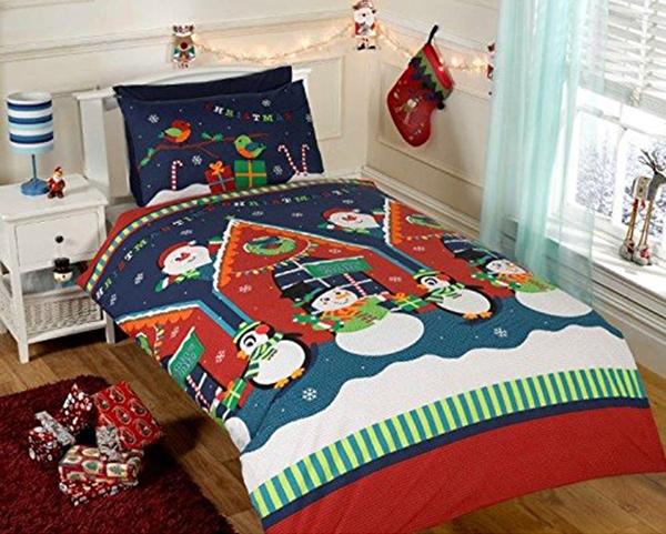 jule sengetøj Jule Sengetøj   Julemandens Hule Kr. 199   på lager til omgående  jule sengetøj