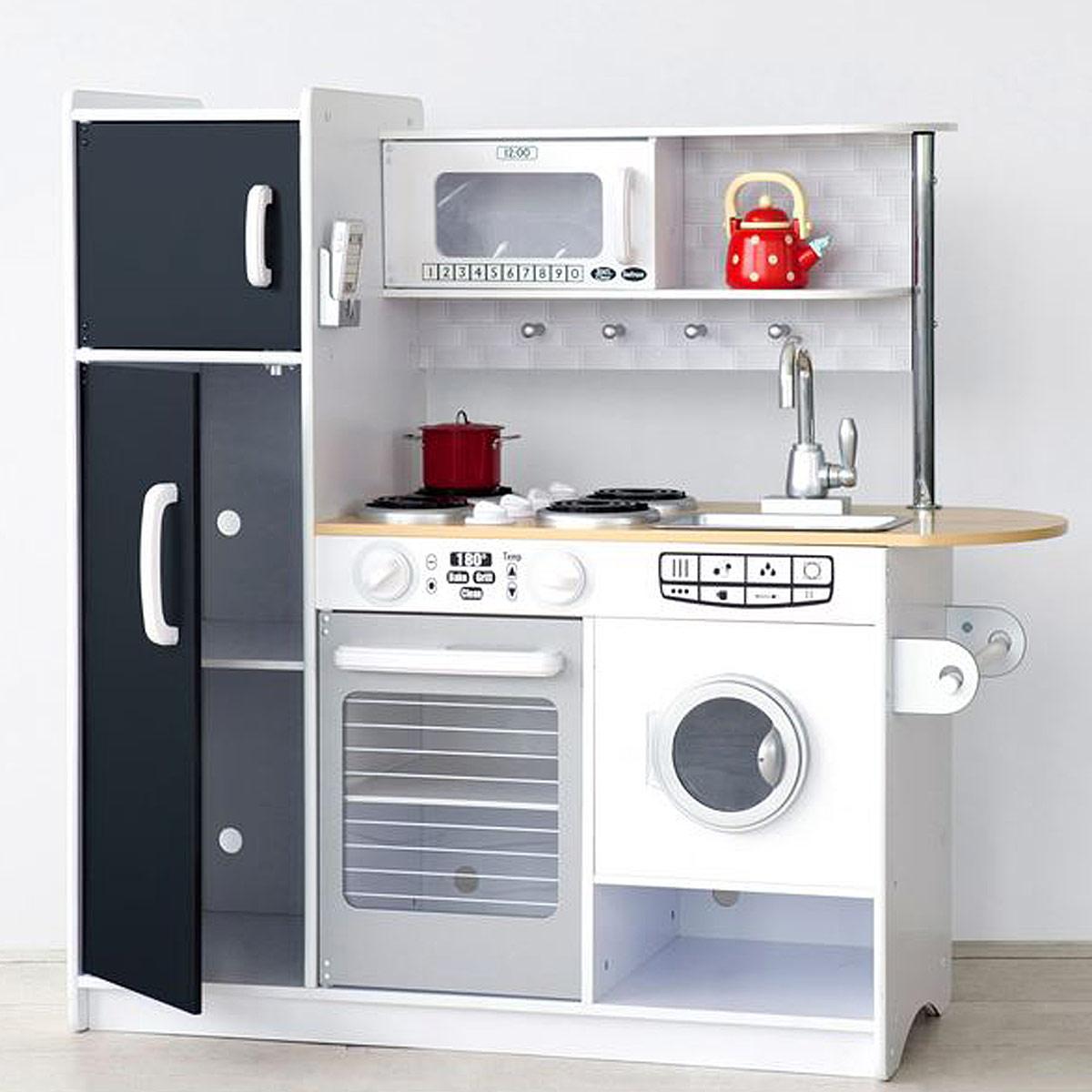 KidKraft Pepperpot Legekøkken m vaskemaskine Kr 1 799   -> Kuchnia Drewniana Brio