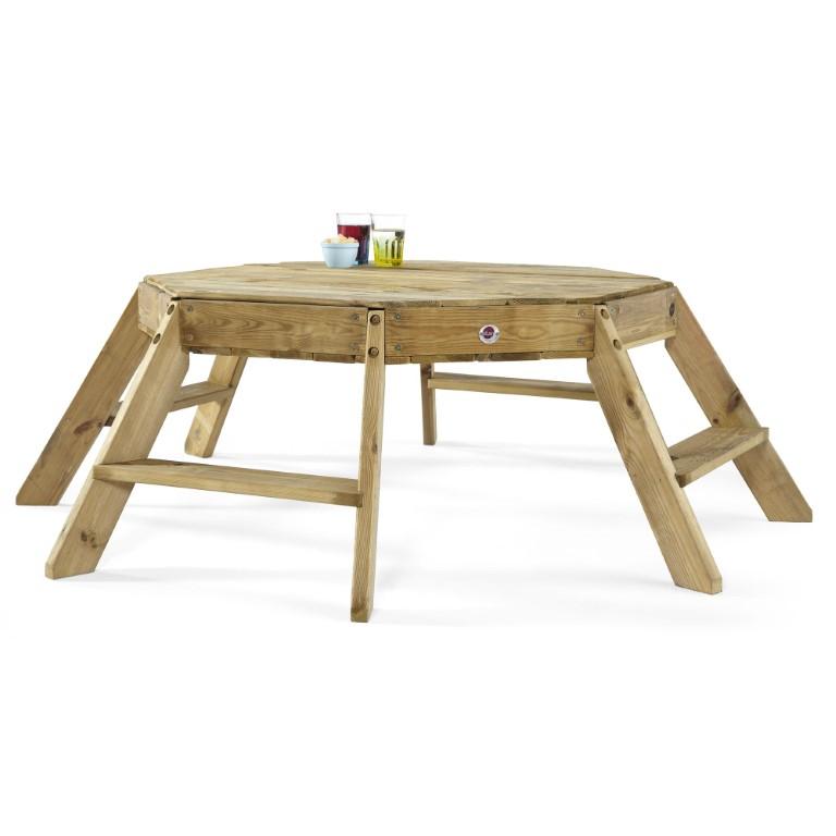 Plum Premium Træ Ottekantet Aktivitetsbord Kr. 1.899 - på lager ...