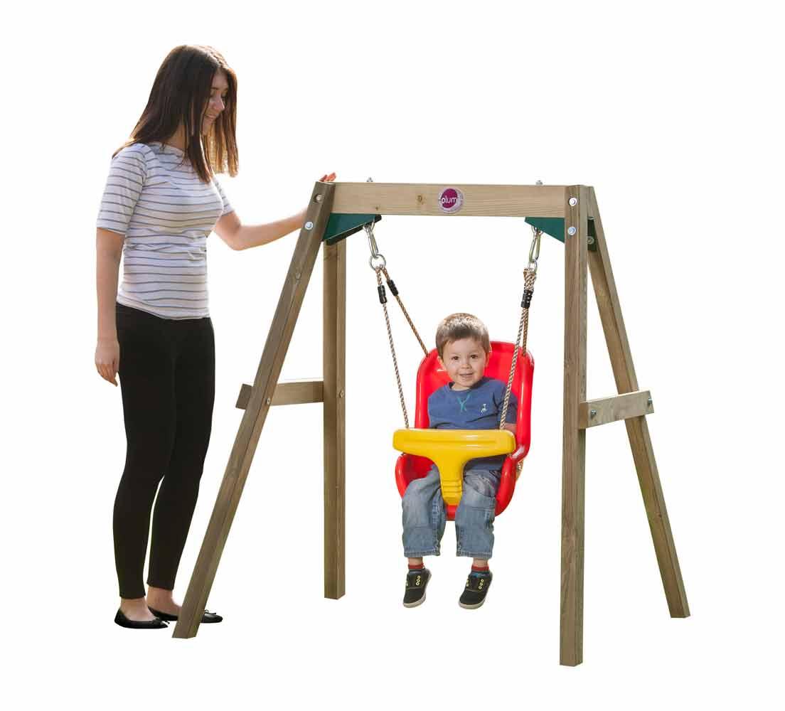 Plum Træ Baby Gynge Sæt Kr 1099 På Lager Til Omgående Levering