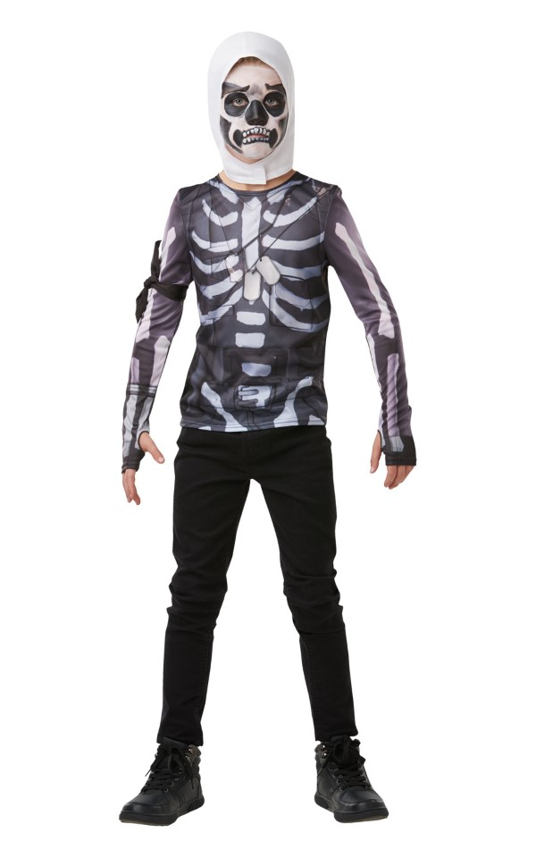 249 Best Images About Mens Fashion On Pinterest: Skull Trooper Fortnite Top Udklædningstøj Kr. 249