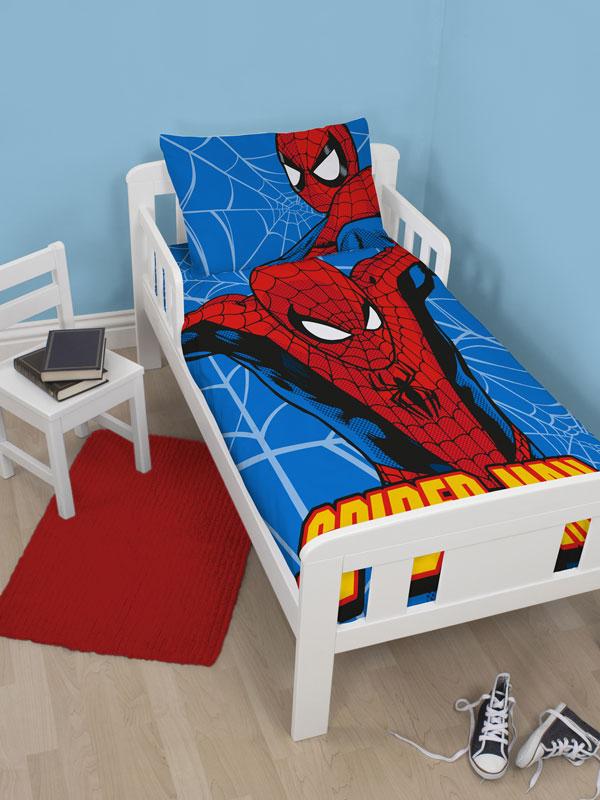 spiderman sengetøj Spiderman Junior Sengetøj (Udgået) spiderman sengetøj