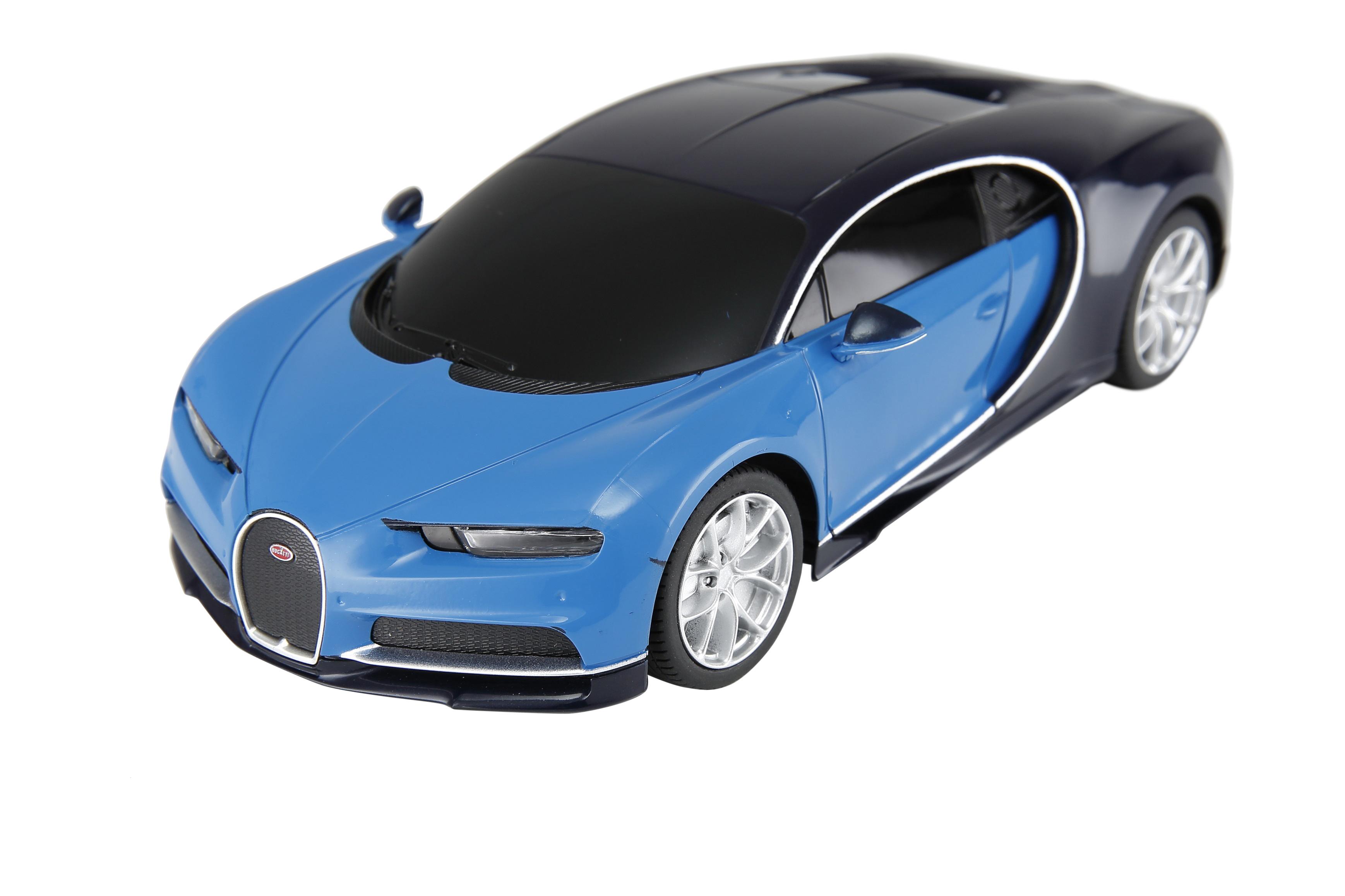 Bugatti Veyron Chiron Fjernstyret Bil 1:24 Kr. 199 - på lager til omgående levering