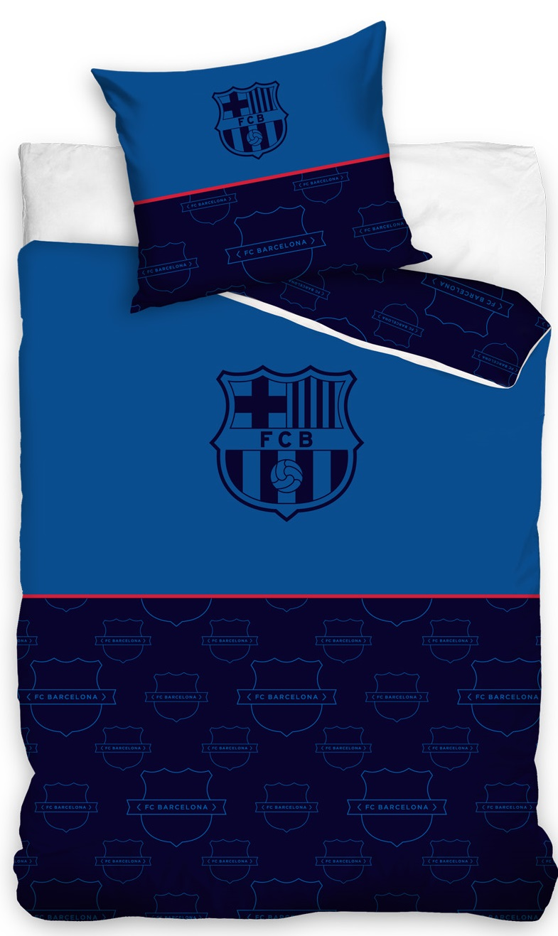 Picture of: Fc Barcelona Blat Sengetoj 140×200 Cm 100 Procent Bomuld Kr 249 Pa Lager Til Omgaende Levering