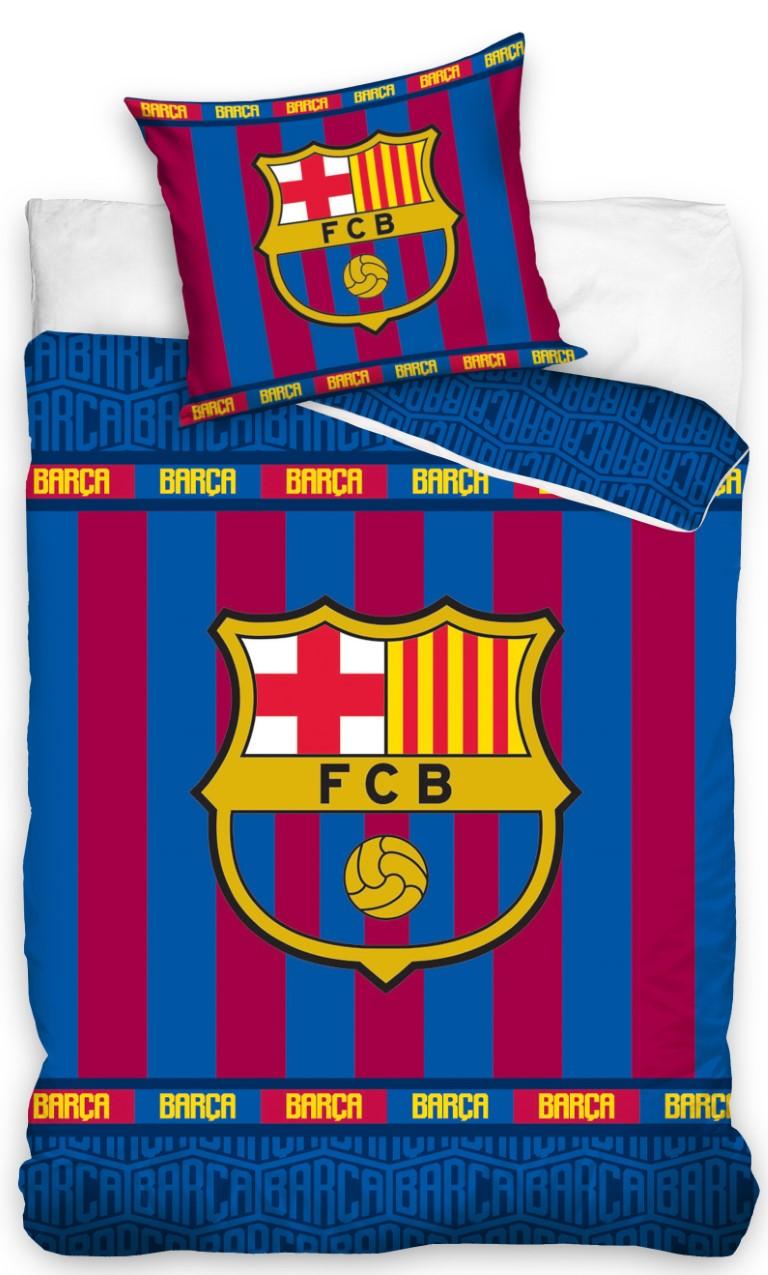 Picture of: Fc Barcelona Sengetoj 140×200 Cm 100 Procent Bomuld Kr 249 Pa Lager Til Omgaende Levering