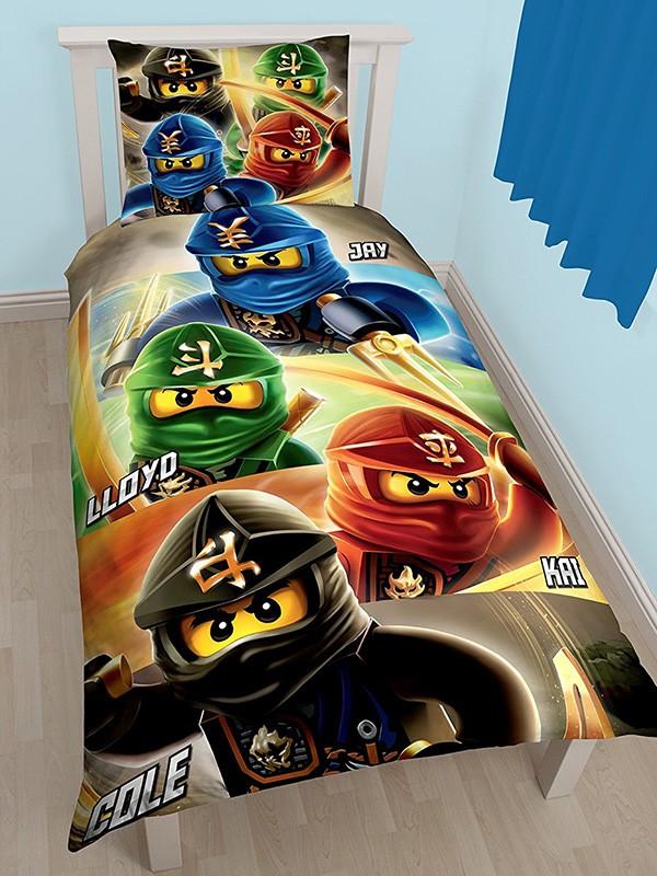 ninjago sengetøj Lego Ninjago Quadrant 2i1 Sengetøj (Udgået) ninjago sengetøj
