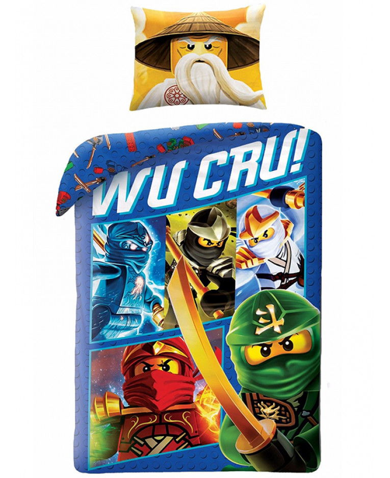 0778accc46d Lego Ninjago Wu Cru 2i1 Sengetøj (100 procent bomuld!) Kr. 249 ...