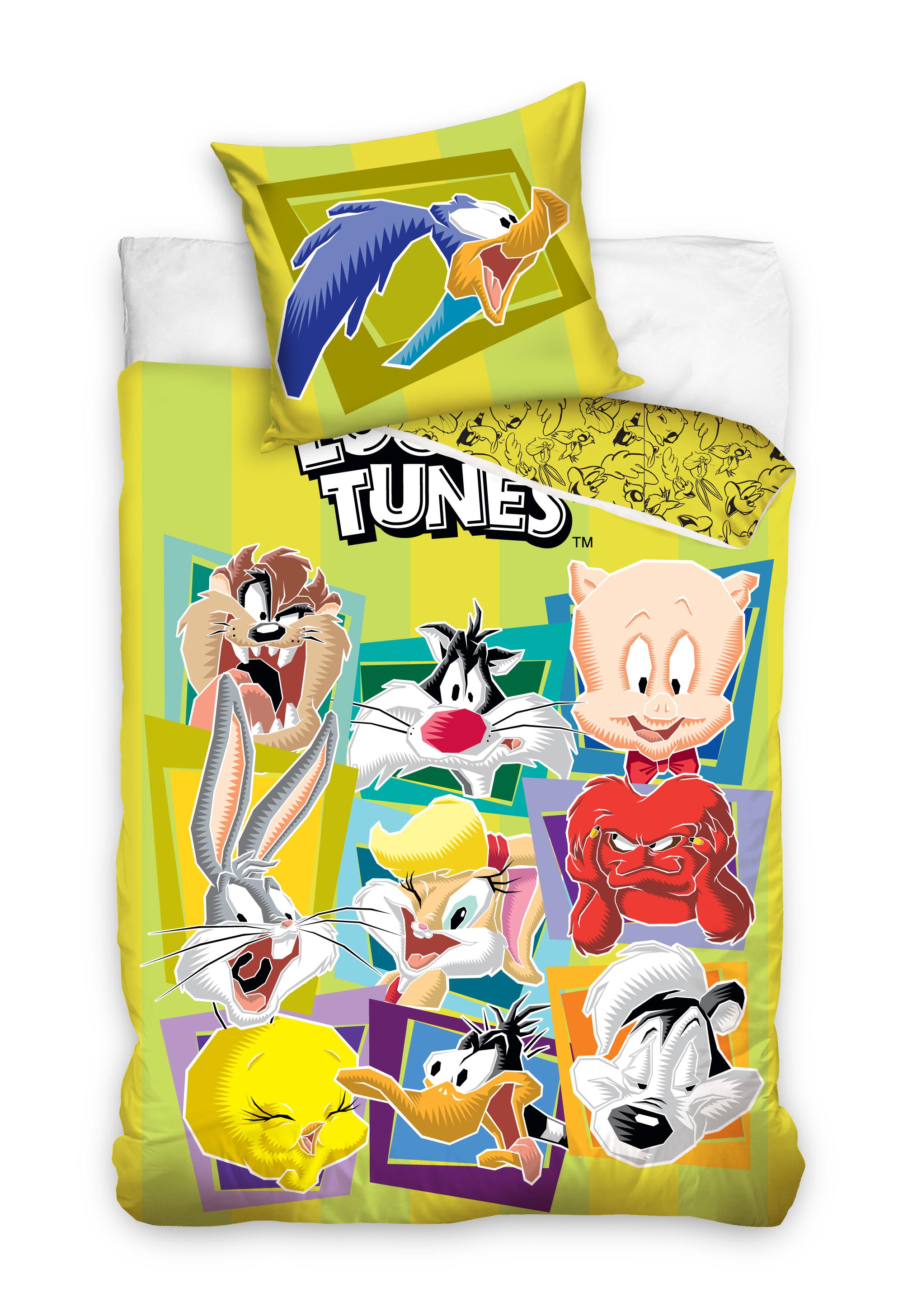 Picture of: Looney Tunes Sengetoj 140 X 200 100 Procent Bomuld Kr 149 Begraenset Tilbud Pa Lager Til Omgaende Levering