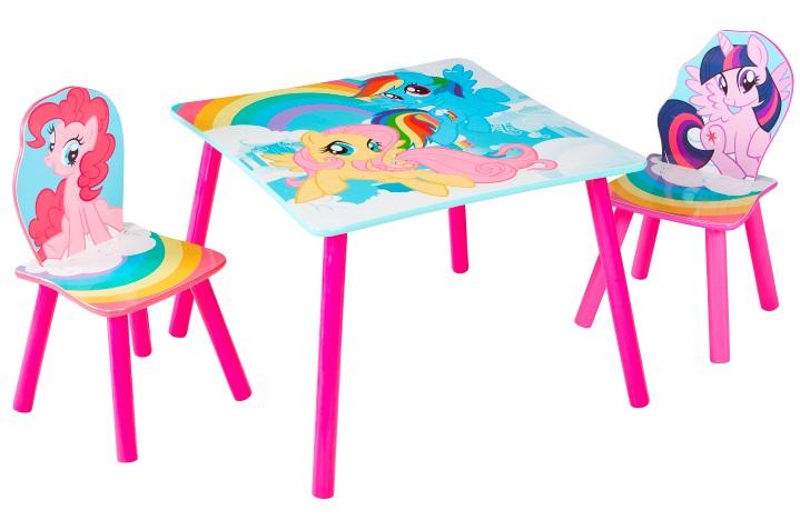 Flot My Little Pony bord med stole Kr. 499(Begrænset Tilbud) - på lager ZD-42