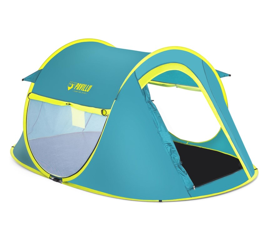 Campingsæt Pavillo telt 2 soveposer 2 underlag Pavillo