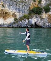 Aqua Cruise Tech Sæt SUP Paddle Board 3.20m x 76cm x 15cm Hydro-Force