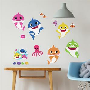 Baby Shark Wallstickers-2
