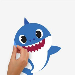 Baby Shark Wallstickers-4