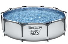 Bestway Steel Pro Frame Pool 305 x 76cm m/filter pumpe
