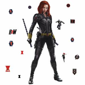 Black Widow Gigant Wallstickers-3