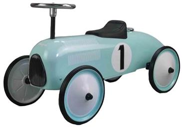 Classic Racer Metal Gåbil Petroleumsfarve ''Limited Edition''