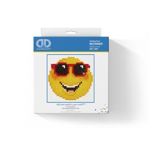Diamond Dotz 10 x 10 cm - Smiling Face-2
