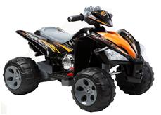 EL Børne ATV Action Black 12V