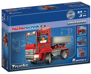 Fischertechnik Advanced Trucks 5-i-1 (390 dele)