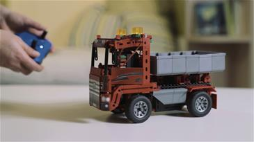 Fischertechnik Advanced Trucks 5-i-1 (390 dele)-15