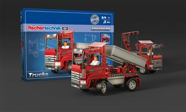 Fischertechnik Advanced Trucks 5-i-1 (390 dele)-2