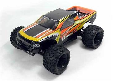 HSP 1:18 4WD EP Monster Truck 2.4G, Grøn-4