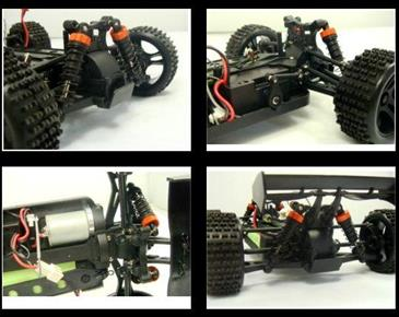 HSP 1:18 4WD EP Off-Road Buggy 2.4G-3