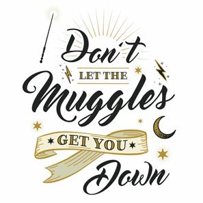 Harry Potter MUGGLES QUOTE Wallstickers-3