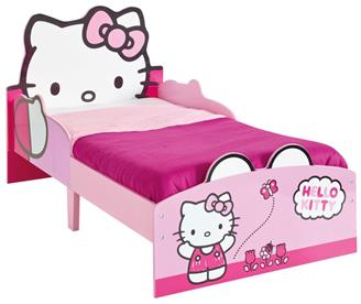Hello Kitty Træ Juniorseng (140cm)