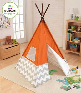 KidKraft Indianertelt Tipi Orange