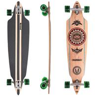 Longboard 41 ''DROP TROUGH RACE'' Streetsurfer Skateboard INDIAN