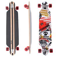 Longboard 41 ''DROP TROUGH RACE'' Streetsurfer Skateboard SAT