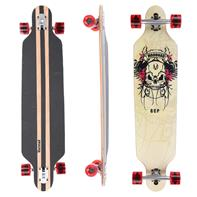 Longboard 41 ''DROP TROUGH RACE'' Streetsurfer Skateboard Scull