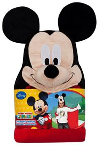 Mickey Mouse Luksus Poncho med hætte-2