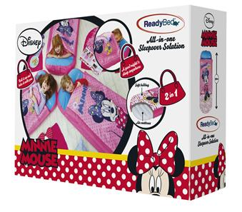 Minnie Mouse Junior ReadyBed Gæsteseng m/Sovepose-7